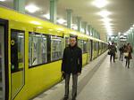 The subway station at Alexanderplatz.