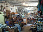 In Mesta we found this Ceramics workshop. Of course, we had to buy some souvenirs.