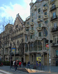 An interesting piece of architecture in Passeig de Gràcia.