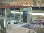 The Exchange has moved to electronic trading, so there are not a lot of people running around shouting as in an old fashioned stock exchange. This is the central surveillance area, where all the activity on the exchange is monitored.