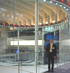 And that's me overlooking the people who are overlooking the exchange.