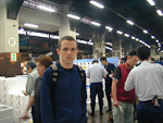 This is me at the Tokyo Central Wholesale Market in Tsukiji at 5 in the morning.