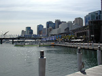 I stayed at a hotel near Darling Harbour - a clean and modern recreational area.