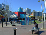 Darling Harbour at daytime.