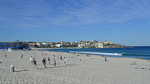 This is the most famous of the Sydney beaches - Bondi Beach.