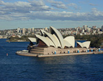 The Sydney Opera House is located at Bennelong Point in the heart of Sydney. Designed by the Danish architect Jørn Utzon, it is the most famous icon of Sydney.