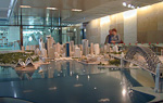This model of the city is in the old Customs House near Circular Quay. The city uses this model to review proposed building projects before giving approval. They don't want ugly buildings to ruin the appearance this beautiful city.