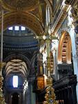Inside St. Paul's.