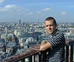 This is me at the top of St. Paul's Cathedral.