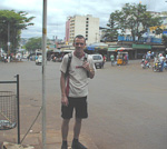 The only thing I liked about Paraguay was the prices. I found some really cheap clothes, among them the t-shirt and shorts that I am wearing at this picture.