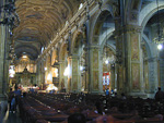 There was a catholic mass in the Cathedral when I visited it.
