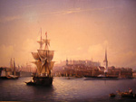 This painting shows how Tallinn looked around 1830.