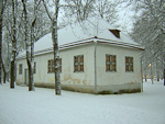 And this house is a short walk from the palace. This is where Peter the Great used to sleep when he visited Tallinn during the construction period. I would assume that he was allowed to sleep over with his wife after the palace was completed.