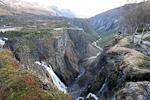 Vøringfoss water fall.