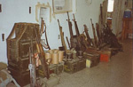 Some of the weapons we had at our disposal at the office where I worked - the Military Intelligence Office.