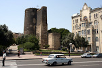 The Maiden's Tower is one of the most important attractions in Baku. It was built during the 7th and 8th century.