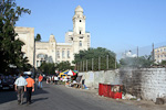 All garbage bins are of metal, and renovation in Baku just means a matchstick, and the problem is solved.