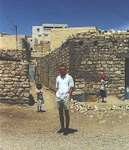 We also made a stop in one of the small villages in the mountains in southern Tunisia. A person tried to sell us a trip to a neighbouring berber village, but we said