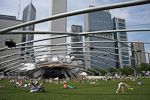 (English) The Great Lawn in front of the Jay Pritzker Pavillion.