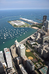 (English) At Navy Pier there is a water purification plant and an amusement park.