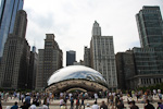 (English) When the Cloud Gate was unveiled in 2004, before it was finished, people did not like it. It was then covered up again for more polishing, and since it was reunveiled in 2006, it has become a popular icon of Chicago, known as the Bean.