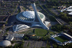 The Stade Olympique (Olympic Stadium) was built for the 1976 Summer Olympics. It seats 56,000 people, and has the world's tallest inclined structure at 175 meters.