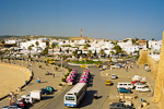 This is the central roundabout in Hammamet, just ouside the old 15th century Medina. Hammamet has about 20,000 inhabitants and a lot of tourists.
