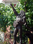 (English) A statue of Bob Marley.