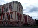 Jelgava Palace (aka Mitava Palace) was completed in 1772, and designed by the famous architect Francesco Bartolomeo Rastrelli, who also made the Winter Palace in Saint Petersburg.