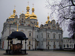 The Dormition Cathedral is a modern replica of the original that was erected in 1077, yet another building that was destroyed during World War II.