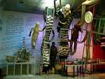 There is a quite kitsch Chornobyl museum in Podil.