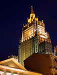 Another of the Stalin skyscrapers - the Ministry of Foreign Affairs.