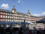 Plaza Mayor dates back to the 15th century, and has been used for bullfights, carnivals weddings and beheading during the Spanish Inquisition.