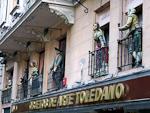 A decorated building at Paseo del Prado.