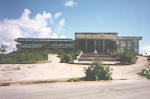 This used to be the parliament building of Somalia.