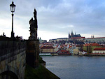 On the top of the Hradcany hill is the impressive Prague castle with St. Vitus' cathedral. The castle is the biggest ancient castle in the world. It's history stretches back to 870.