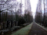 The Jewish Cemetery was founded in 1890.