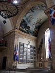 Inside the Panteon Nacional.