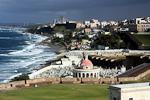 The Atlantic coast seen from El Morro.