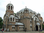 The Black Mosque was built in 1528 by the Ottomans, but during a 19th century earthquake the minaret collapsed, and it was used as a warehouse and prison after Bulgaria was liberated from the Turks in 1878. In 1901-02 it was converted into a christian church, the Sveti Sedmochislenitsi Church.