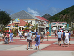 Philipsburg is the capital of the Dutch part of the island with the Dutch name Sint Maarten.